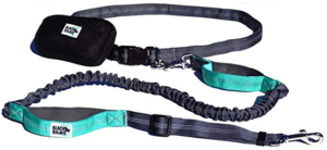 Black Rhino - Premium Hands Free Dog Leash for Hiking