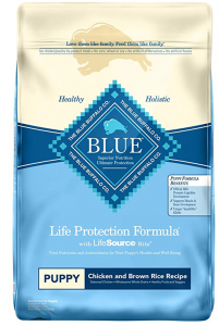 Blue Buffalo Natural Dry Dog Food for Puppies – Chicken and Brown Rice