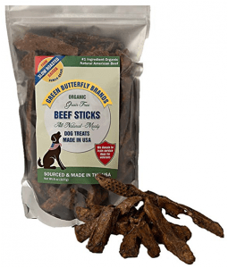 Green Butterfly Brands Organic Grain Free Dog Treats