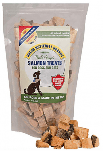 Green Butterfly Brands Salmon Dog Treats