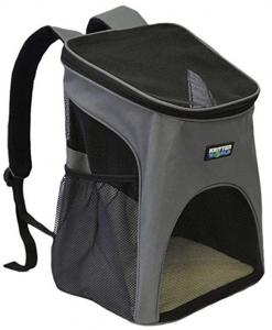 KritterWorld Pet Carrier Backpack for Small Dogs