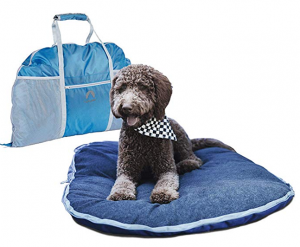 Lightspeed Outdoors Ultra Plush Fold and Go Travel Pet Bed