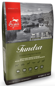 Orijen Tundra 4.4 Pounds Dog food
