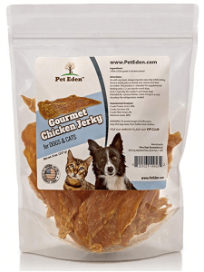 Pet Eden Natural Grain Free Chicken Jerky Dog and Cat Treats