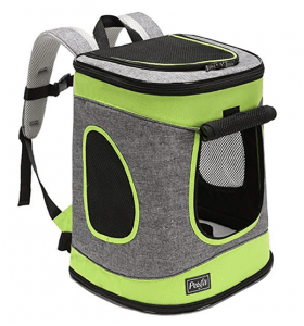Petsfit Soft Pet Backpack Carrier for Hiking
