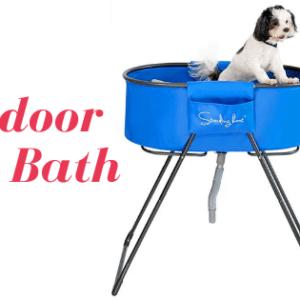 Best Outdoor Dogs Bath