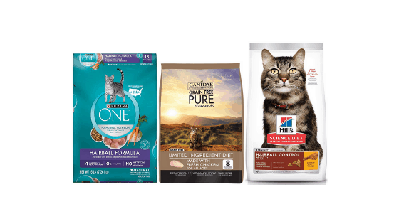 5 Best Cat food for hairballs and vomiting – Review 2020