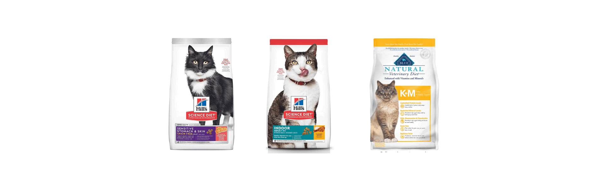 Low sodium cat food